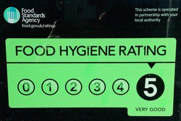 Food Standards Agency rating